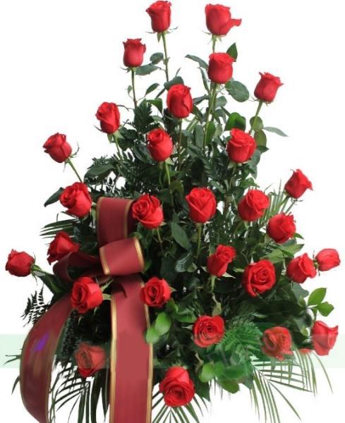 Centro funerario de 30 rosas